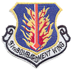 97th Bomb Wing emblem, ca. 1980