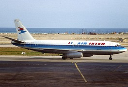 Dassault Mercure of Air Inter which became part of Air France in 1990