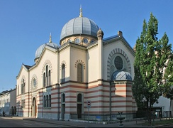 The main synagogue of Basel