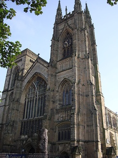 Bridlington Priory in Yorkshire; dissolved in 1537 due to the attainder of the prior for treason following the Pilgrimage of Grace