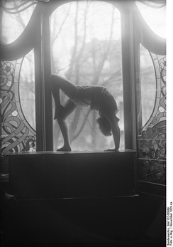 Dancer at the Laban school, Berlin 1929