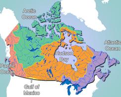 Гидрографические бассейны Канады