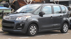 Citroën C3 Picasso, an example of a two-row mini MPV for the European market