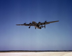 C-87 Liberator Express takes off from Fort Worth, Texas on a test flight in October 1942.