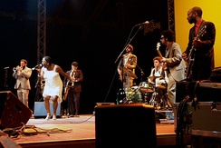 Sharon Jones & the Dap-Kings at the Moers Festival 2007