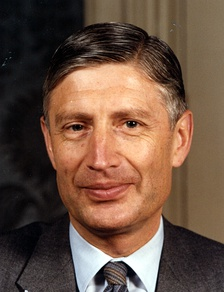 Dries van Agt, Leader from 1976 until 1982 and Prime Minister of the Netherlands from 1977 until 1982.
