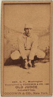 Baseball card of Hoy