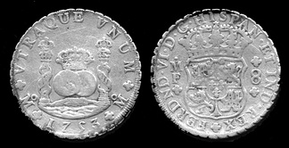 The Spanish dollar was the basis of the United States silver dollar.