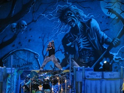 Iron Maiden in Ottawa in 2010 during The Final Frontier World Tour