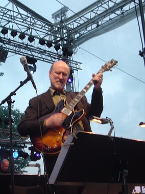 At the International Jazz Festival Enschede, 2007