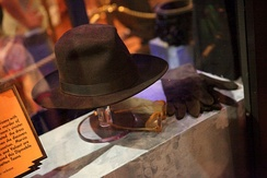 Judge Doom hat, gloves and glasses from the film Who Framed Roger Rabbit.