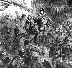 The Duke of Guise during the Day of the Barricades.