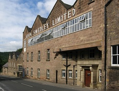John Smedley factory at Lea Mills: the oldest continuously-working factory in the world