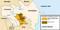 Current military situation in separatist Nagorno-Karabakh