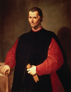 Niccolò Machiavelli, the founder of modern political science and ethics.