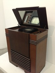 First U.S. commercial TV set, the RCA Victor TRK 12 (1939)[70]