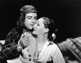 Novarro with Lupe Vélez in Laughing Boy (1934)