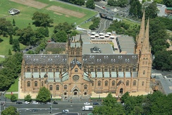 The Cathedral Church and Minor Basilica of the Immaculate Mother of God, Help of Christians is the cathedral church of the Roman Catholic Archdiocese of Sydney.