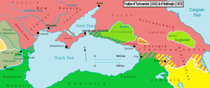 Territorial changes after the Treaty of Adrianople