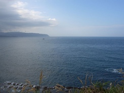 View of East China Sea from Yeliou, Taiwan