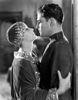 Novarro with Greta Garbo in Mata Hari (1931)