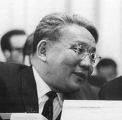 Mongolian Premier Yumjaagiin Tsedenbal was the longest-serving leader in the Soviet Bloc, with over 44 years in office