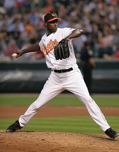 Hawkins during his tenure with the Baltimore Orioles in 2006