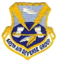 Emblem of the 665th Air Defense Group