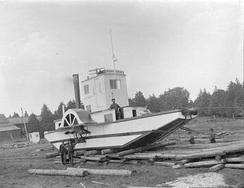 Alligator tug Bonnechere, 1907