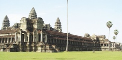 Angkor Wat viewed from the northwest