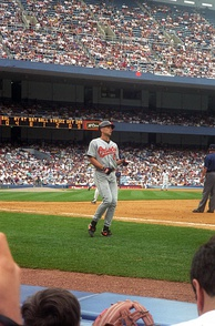 Ripken in 1996 at Yankee Stadium