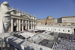 Canonization Mass held on 14 October 2018.