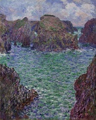 Claude Monet, Port-Goulphar, Belle-Île, 1887