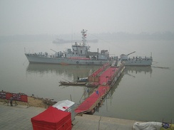 A patrol boat in use during Deng Xiaoping's southern tour.