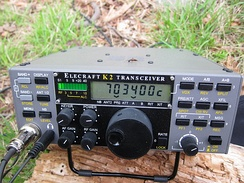 Example of transceiver optimized for QRP CW operation: Elecraft K2