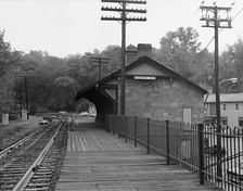 The Ellicott City Station near Baltimore, the oldest passenger station in the U.S., is now a museum devoted the B&O's role in the Civil War.