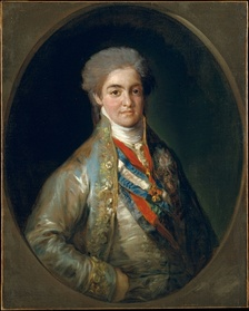 Young Ferdinand as Prince of Asturias, 1800
