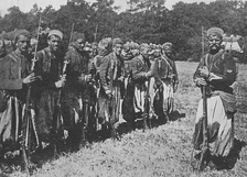 French Zouaves of the Army of Africa in WWI