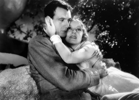 Film still of Gary Cooper and Helen Hayes