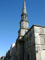 A former guildhall in Dunfermline, Scotland built around 1807 and 1811