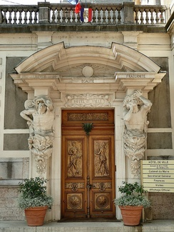 Entrance of the Lumières brothers' villa