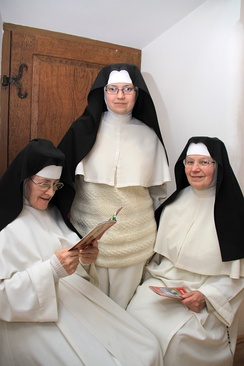 Norbertine canonesses in Imbramowice, Poland.