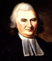 John Witherspoon, a Founding Father of the United States and first moderator of the Presbyterian Church in the USA
