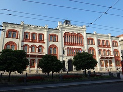 Belgrade University Rectorate.