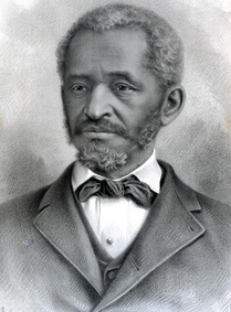 Lewis Hayden, 19th-century portrait, ex-slave, abolitionist, businessman, Republican Party representative from Boston to the Massachusetts state legislature in 1873.