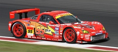 "Disney Japan and Toyota supported racing team, Cars Racing introduced the ""Lightning McQueen apr MR-S"" in the 2008 Super GT season."