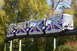 The Chester Zoo monorail.