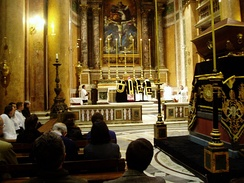 Extraordinary Form Requiem Mass at Santissima Trinità dei Pellegrini (Most Holy Trinity of Pilgrims) church in Rome