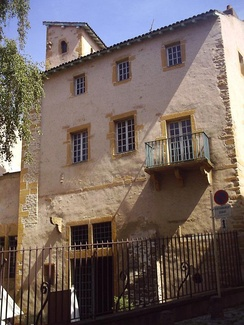 The house of François Rabelais in Metz
