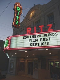 Ritz Theater in downtown Shawnee